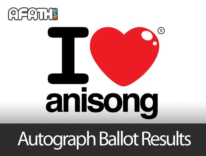 Autograph Ballot Results