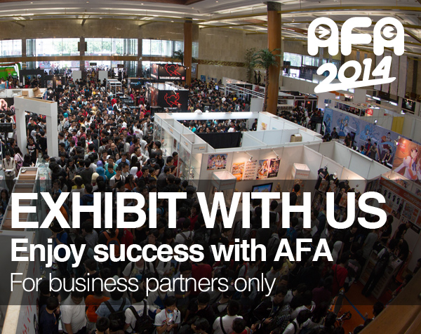 BE AN EXHIBITOR AT AFA INDONESIA 2014!