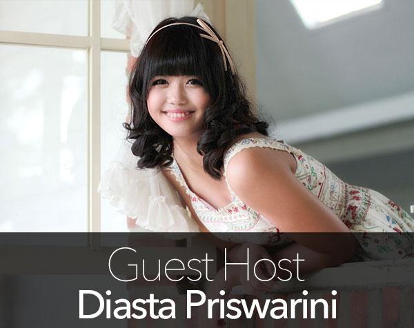 Guest Host : Diasta Priswarini