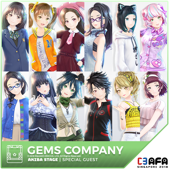 SPECIAL GUESTS | C3 AFA Singapore 2018